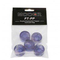 Mooer Mooer Candy Purple Footswitch Topper plastikowe osłonki na przełączniki nożne