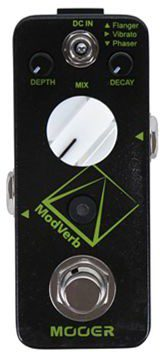 Mooer MRV 4 ModVerb Digital Reverb Pedal with