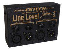 Morley EBTECH Hum Line Level Shifter XLR 2 channel Box bramka szumów