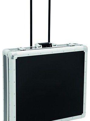 Omnitronic Case, czarna, 200etykiet na płytach CD, płyty CD z Trolley 30122092