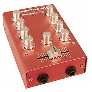Omnitronic GNOME-202 Mini mixer red 10006883