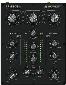 Omnitronic TRM-202MK3 2-Channel Rotary Mixer - 2 kanałowy mikser DJ 10355922