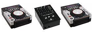 Omnitronic Zestaw PM-222 + 2x XMT-1400 20000397
