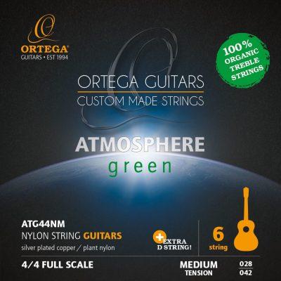 Ortega Ortega ATG44NM - struny do gitary klasycznej