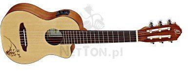 ORTEGA RGL5CE Guitarlele z elektroniką Ortega CUTAWAY 2609