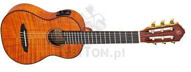 ORTEGA RGLE18FMH Guitarlele z elektroniką i z pokrowcem 2624