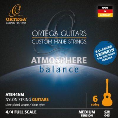ORTEGA Struny do gitary klasycznej ATB44NM 34D2-60831