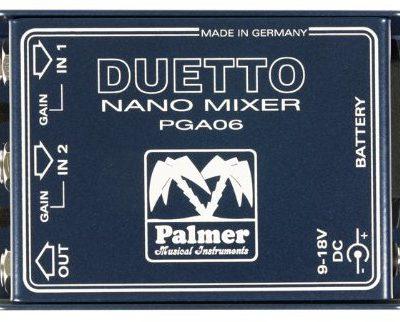 Palmer Duetto Nano blender & buffer AMP PDUETTO