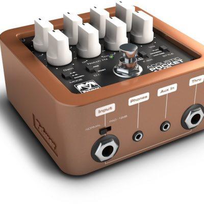 Palmer MI MI POCKET AMP ACOUSTIC - Portable Preamp for Acoustic String Instruments