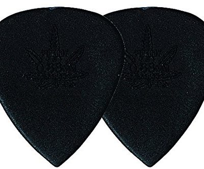 PickBoy Pick Boy plektrum/Pick Carbon nylon, 1,00 mm, mocny, czarny, 12 sztuk GP-33R 100