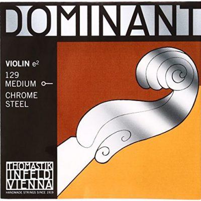 Pirastro thomastik struny skrzypce dominant 4/4E średnia 129