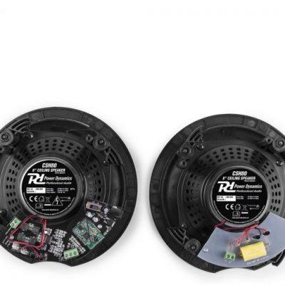 Power Dynamics CSH80, zestaw głośników sufitowych, maks. 2x70W, Bluetooth, wzmacniacz cyfrowy Sky-952.584