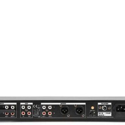 Power Dynamics PDC75 Odtwarzacz multimedialny 3x wejście RCA 2x wyjście XLR Bluetooth kolor czarny 172.827