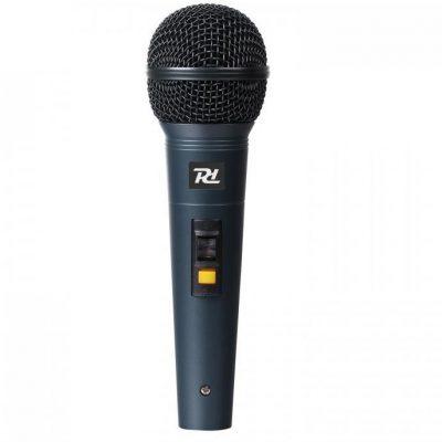 Power Dynamics PDM661 Mikrofon dynamiczny XLR z kablem Uchwyt Adapter 173.428