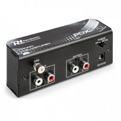 Power Dynamics PDX010 Przedwzmacniacz phono phono-line przedwzmacniacz stereo 172.772