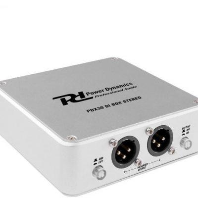 Power Dynamics PDX30, przystawka DI Stereo, symetryczne wyjście XLR, aluminium Sky-172.782