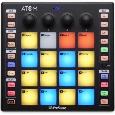 PreSonus ATOM - kontroler