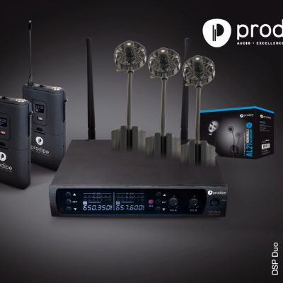 Prodipe UHF DSP AL21 PACK DUO - Zestaw mikrofonów instrumentalnych 39349