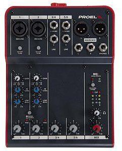 PROEL MQ6 Mikser audio MQ6