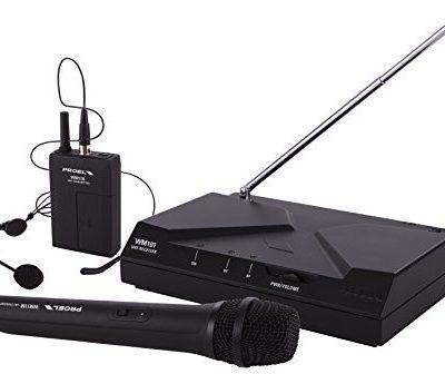 Proel ręcznie + Bogen A-stałe mikrofonu wm101kit Kit WM101KIT