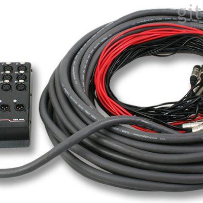 PROEL stagebox, multicore, przewód wieloparowy 24 wejścia / 8 powrotów EBN2408