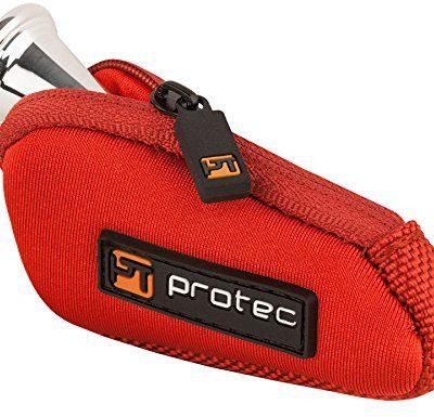 Protec ROTEC n202rx ustnikiem torba, do lasu Horn ustnikiem, neopren-wzornictwo, czerwony N202RX