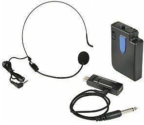 QTX U-MIC-863.2-N Mikrofon nagłowny bezprzewodowy USB UHF 863.2MHz 171.808UK