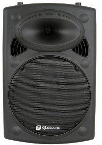 QTXsound QR15K active moulded speaker cabinet - 400Wmax, kolumna głośnikowa aktywna 178.316UK