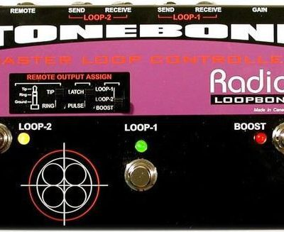 Radial Loopbone FX Loop Controler