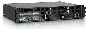 RAM Audio RAM Audio S 1500 - 2 x 880 W 2 Ohm, wzmacniacz mocy RAMS1500