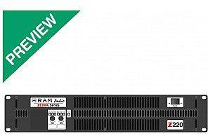 RAM Audio RAM Audio Zetta 220 - 2 x 1000 W 2 Ohm, wzmacniacz mocy RAMZ220