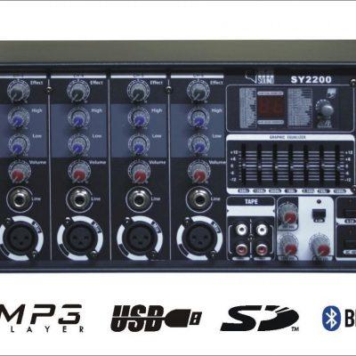RH Sound SY-2200 100V/4-16Ohm - wzmacniacz