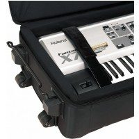 Rockcase Rockcase RC-21517-B Deluxe Line Soft-Light Case Keyboard 107 x 36 x 15 cm 42 1/8 x 14 3/16 x 5 7/8 miękki futerał do keyboardu