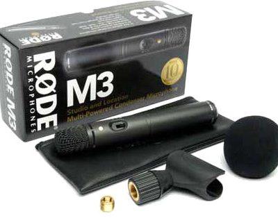 Rode M3 - Mikrofon pojemnościowy + kurs obróbki wokalu 62749