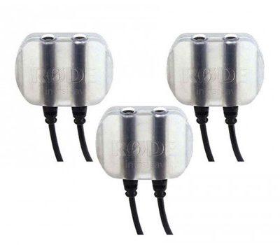 Rode Microphones Rode Lavalier montaż systemu dla przypięcie do ubrania mikrofon o stonowanym wyglądzie invisilav3(zestaw 3szt.) Invisilav 3 Pack