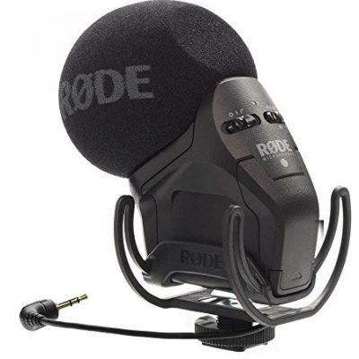 Rode Microphones Rode svmpry Ultra-kompaktowy mikrofon stereo zapewnia akcesoria do montażu Czarny SVMPR