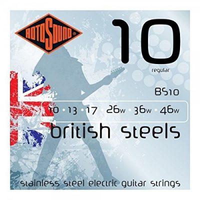 Rotosound rotos górne British Steels Electric Guitar Strings BS10
