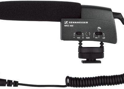 Sennheiser MKE 400 - Shotgun microphone 50452