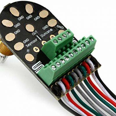 Seymour Duncan LB1500K Liberator + potencjometr głośności do gitary 500K czarny SLB-1-500K