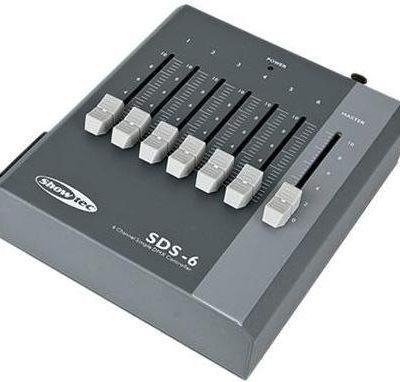 Showtec SDS-6 - 6-kanałowy kontroler DMX 50723