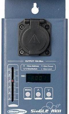 Showtec Single MK II - 1 kanałowy Dimming/Switch Pack, DMX 50396