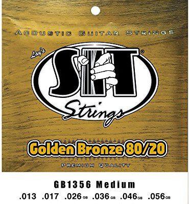 SIT gb1356Golden strun z brązu Medium gitara elektryczna GB1356