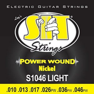 SIT s10461046power Wound lekkie gitara elektryczna Sai TENN, nikiel S1046