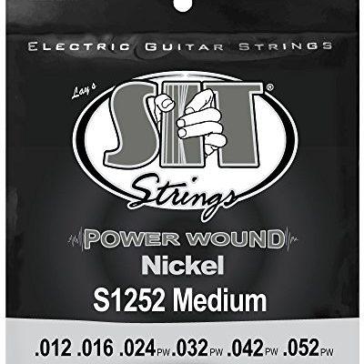 SIT s1252power Wound Jazz Medium gitara elektryczna struny S1252