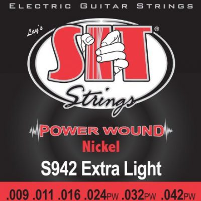 SIT s942power Wound Extra Light strun gitara elektryczna S942