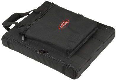 SKB 1SKB-SC191U pokrowiec na 1U pasy na ramiona Soft Rack walizka transportowa (stal szyny, do dużych obciążeń zamki błyskawiczne, torba, zewnętrzne) 1SKB-SC191U