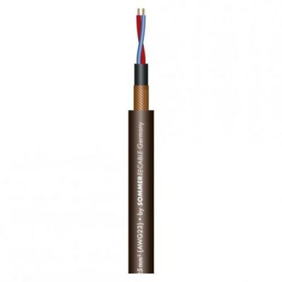 Sommer Cable Sommer Cable SC-Club Black Zilk kabel mikrofonowy szpula 100m