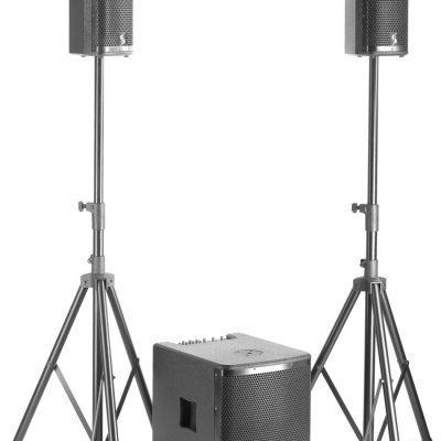 SoundSation Stagg SWS2800D21B-0 - zestaw nagłośnieniowy 700W + 2x 350W