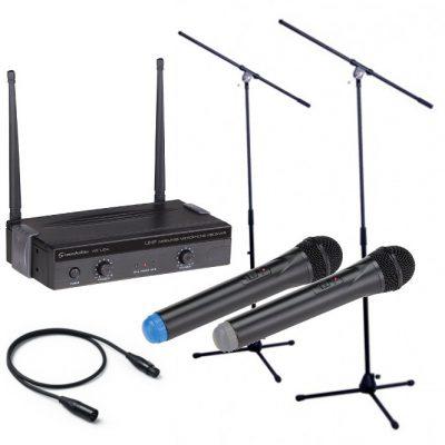 Soundsation WF-U24HH + 2x statyw + kabel 1m 12588