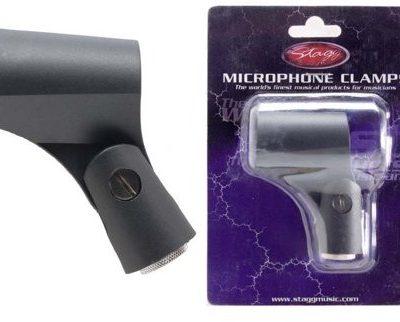 Stagg 15768guma elastyczny mikrofon klaemme (2329MM) Czarny MH-6AH